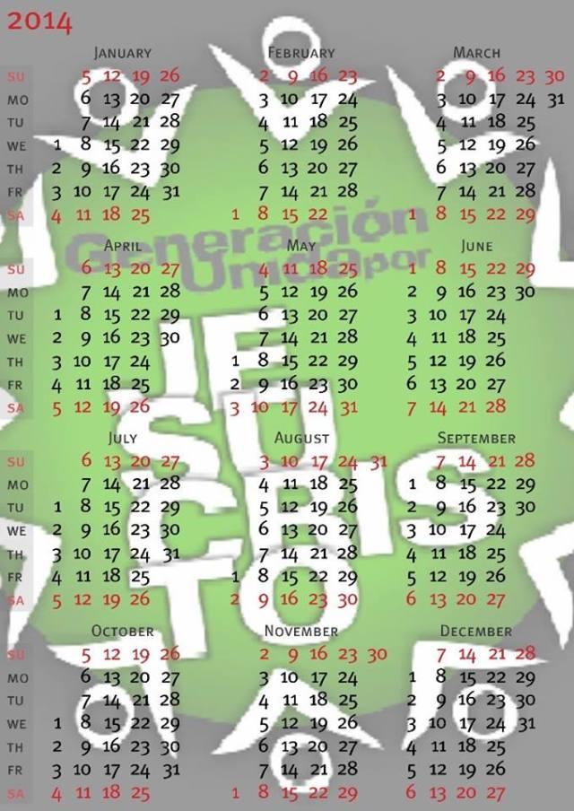 Calendario 2014a